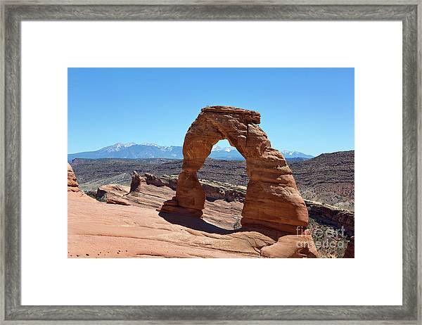 Delicate Arch Arches National Park Framed Print