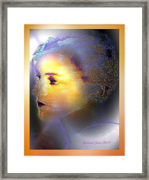 Delicate  Woman Framed Print