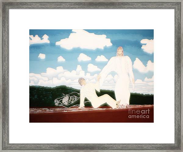 Deliver Me Extra Bright Framed Print by Daniel Henning
