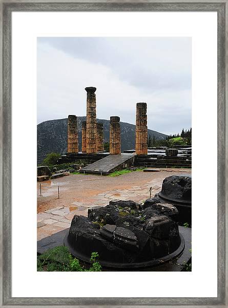 Delphi 01 Framed Print
