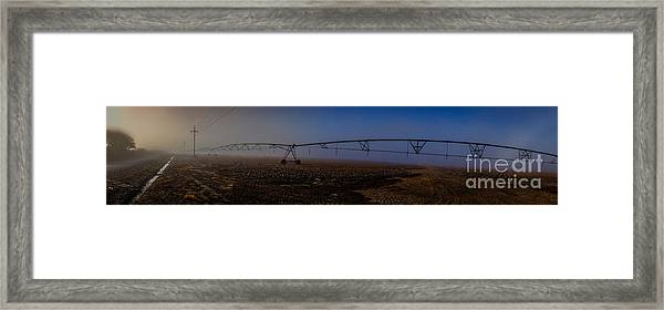 Delta Morning In Mississippi Framed Print