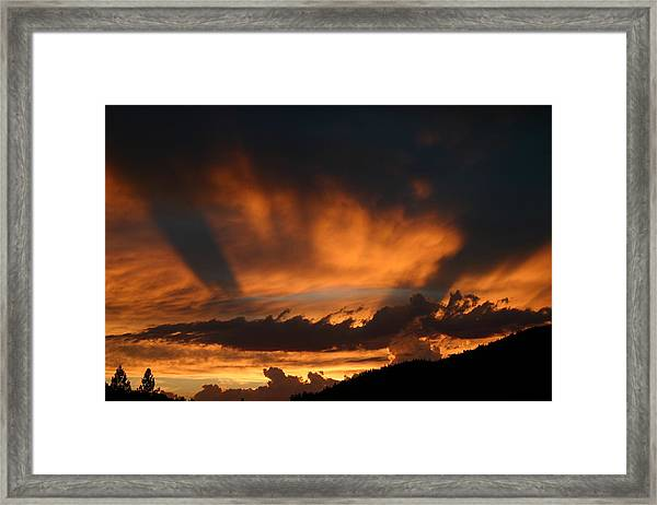 Demille Would Be Proud Framed Print