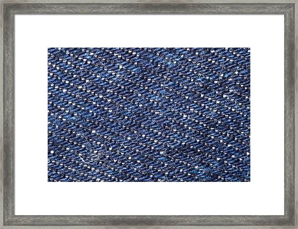 Denim 674 Framed Print