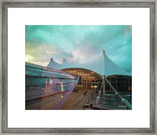 Denver International Airport Framed Print