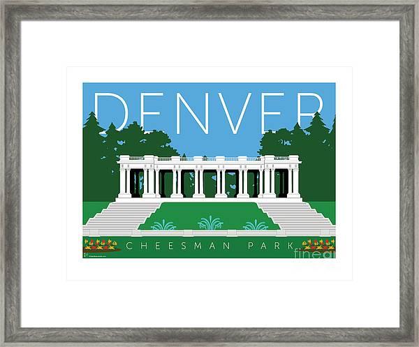 Denver Cheesman Park Framed Print