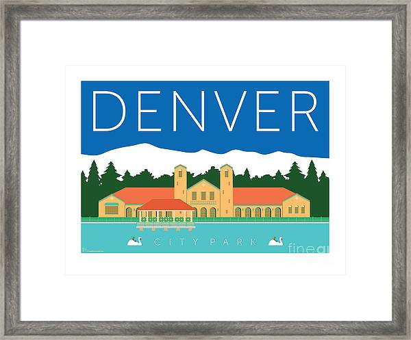 Denver City Park Framed Print