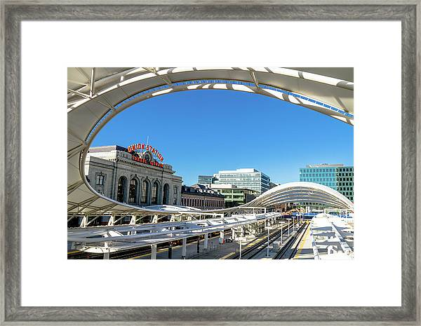 Denver Co Union Station Framed Print