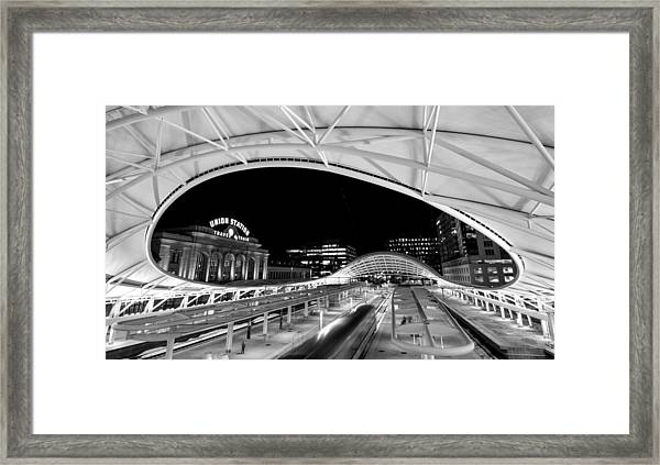 Denver Union Station 1 Framed Print