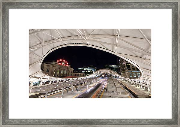 Denver Union Station 3 Framed Print