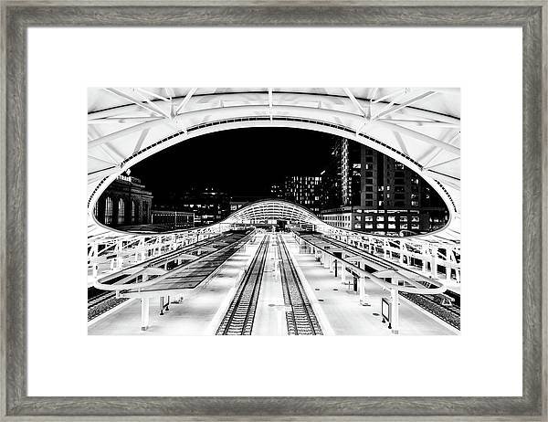 Denver's Union Station Framed Print