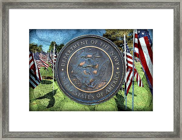 Department Of The Navy - United States Framed Print