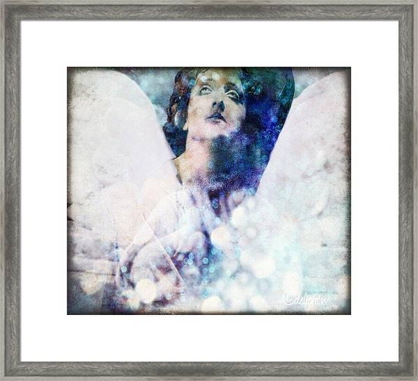 Depression Angel Framed Print