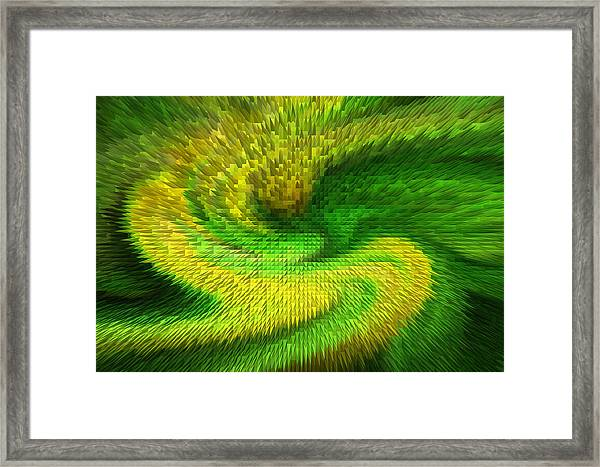 Depth Of A Vision Framed Print by Linda Phelps