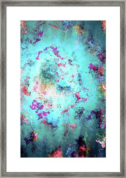 Depths Of Emotion - Abstract Art Framed Print