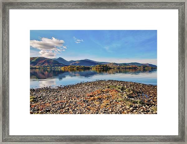Derwent Shoreline Framed Print