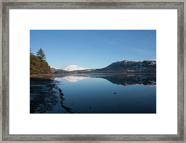 Derwentwater Shore View Framed Print