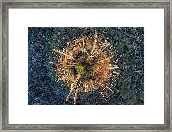 Desert Big Bang Framed Print