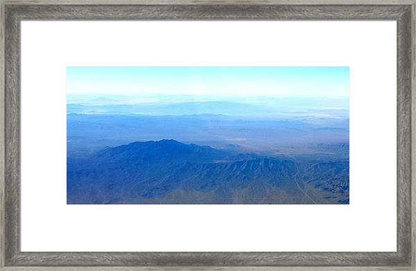 Desert Blues Framed Print
