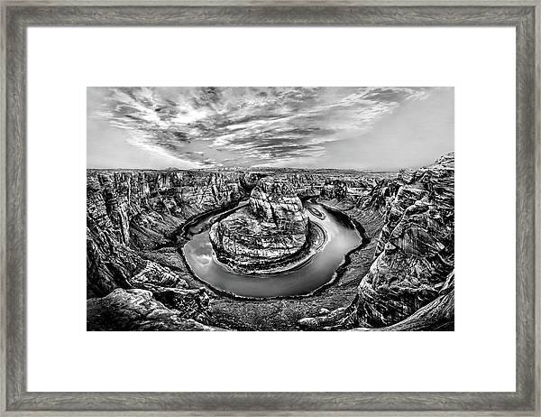 Desert Cauldron Framed Print