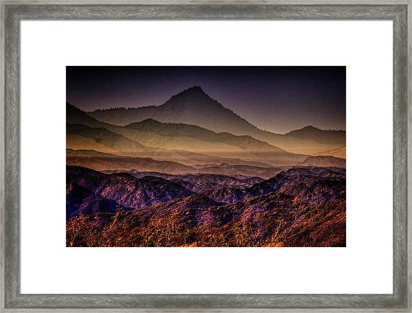 Desert Dreams Framed Print