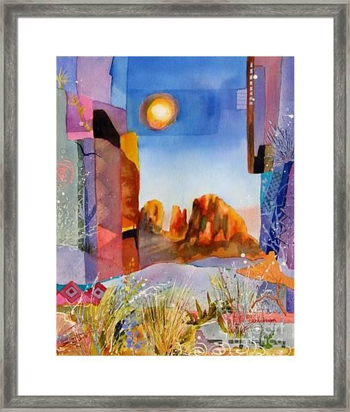 Desert Escape Framed Print