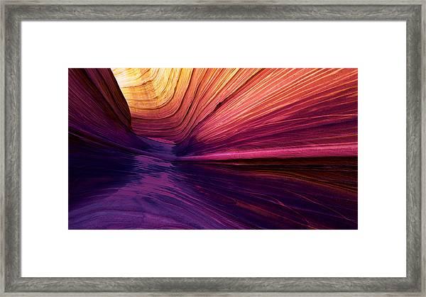 Desert Rainbow Framed Print