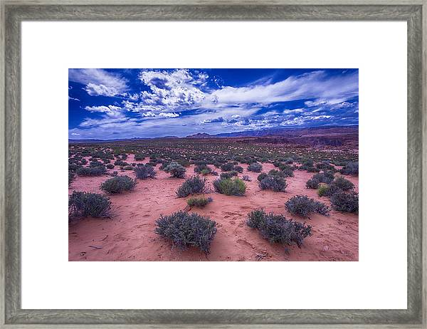 Desert Sky Framed Print