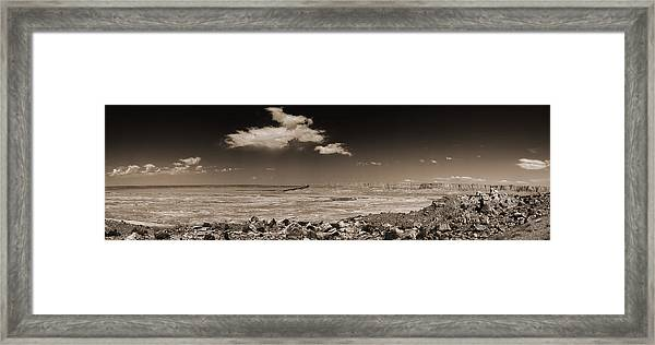 Desert View - Northern Arizona Framed Print