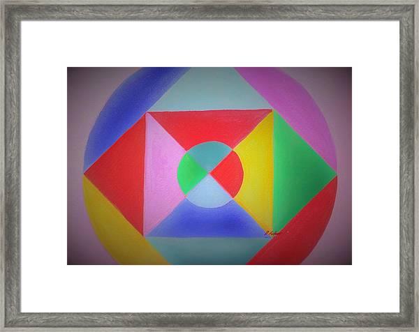 Design Number One Framed Print