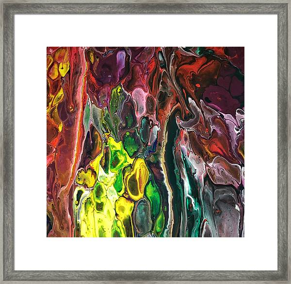 Detail Of Auto Body Paint Technician  Framed Print