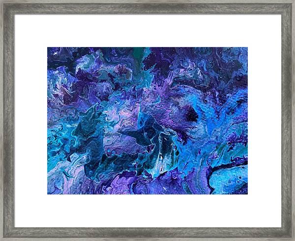 Detail Of Waves 5 Framed Print