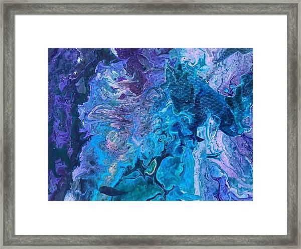 Detail Of Waves 6 Framed Print