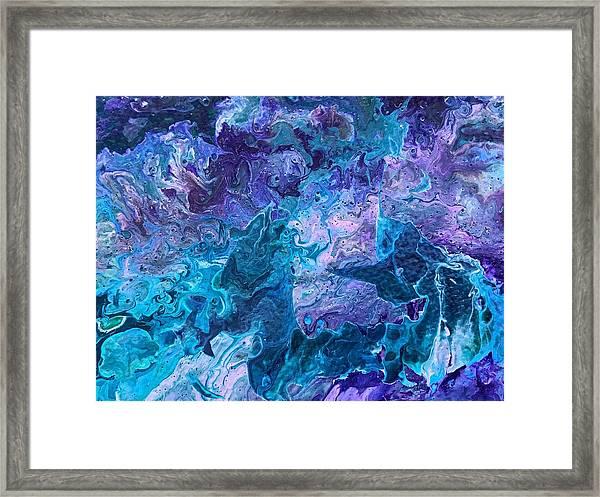 Detail Of Waves 7 Framed Print