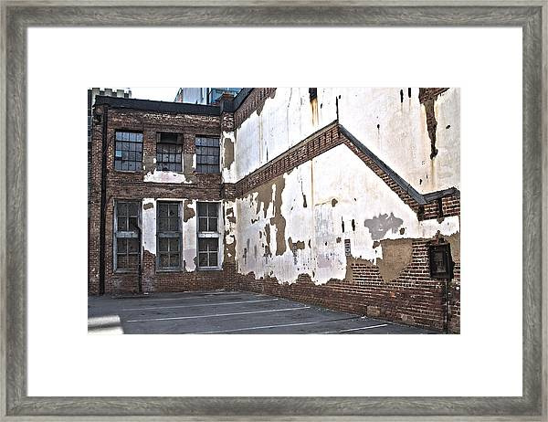 Framed Print featuring the photograph Deteriorated by Break The Silhouette