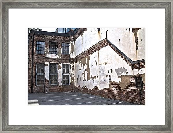 Deteriorated Framed Print