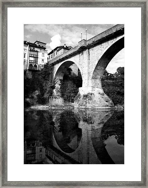 Devil's Bridge Framed Print