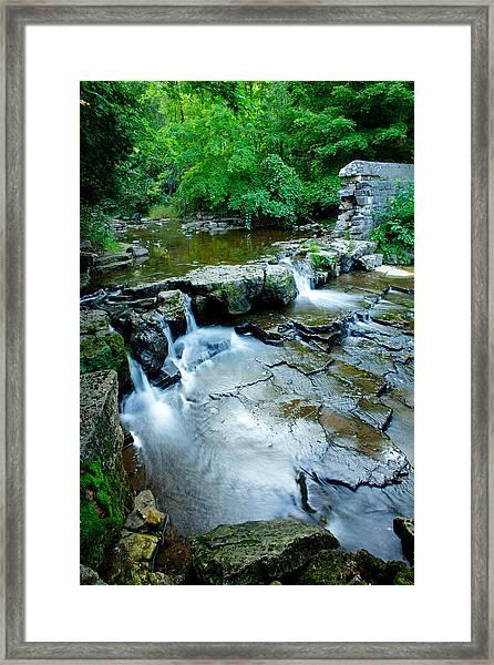Devils River 1 Framed Print
