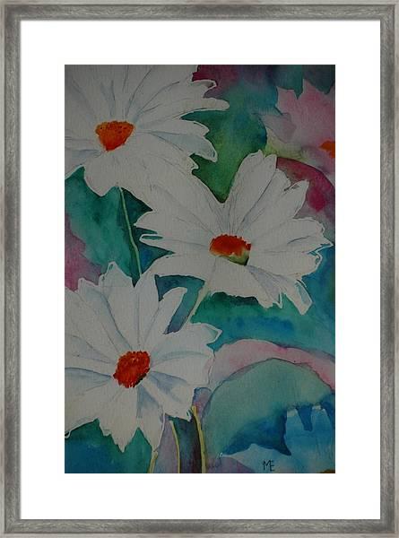 Devin's Dasies Framed Print