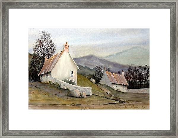 Devonshire Cottage I Framed Print