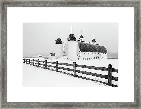 Dh Day Farm 4 Framed Print