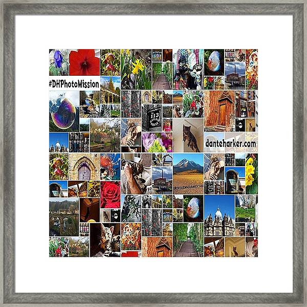 #dhphotomission My New #photomission Framed Print by Dante Harker