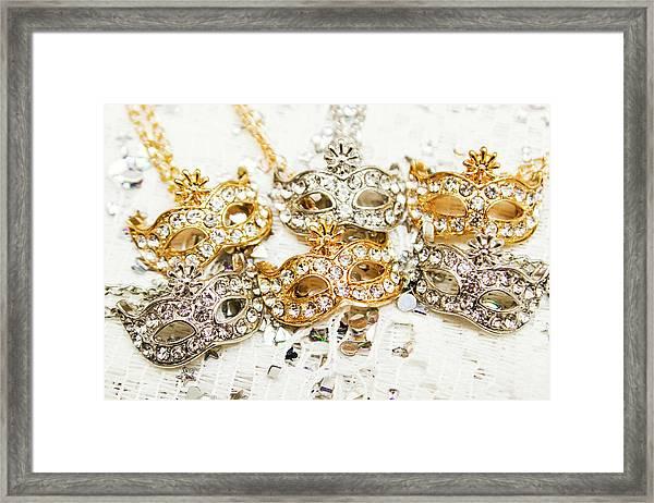 Diamond Party Framed Print
