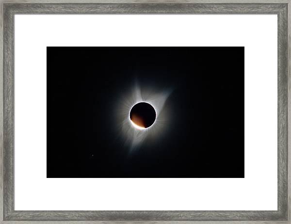 Diamond Ring Framed Print