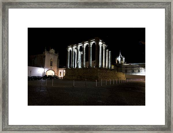 Diana Temple Framed Print by Andre Goncalves