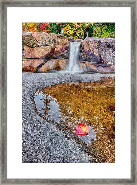 Diana's Baths 7901 Framed Print