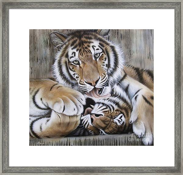 Diana's Duo Framed Print