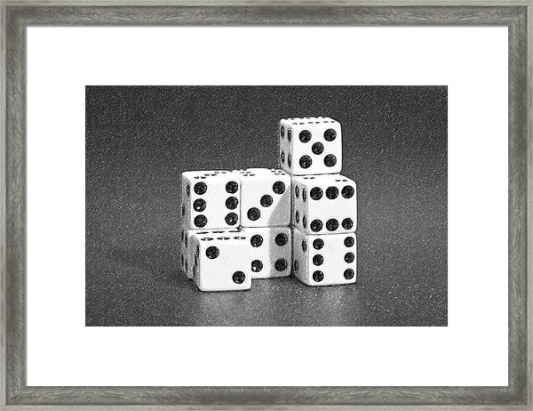 Dice Cubes IIi Framed Print