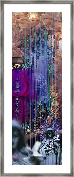 Dichotomy I Framed Print