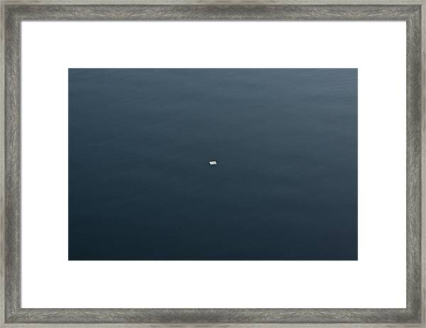 Did You Get My Note Framed Print