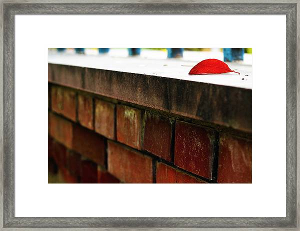 Different Therefore Cornered  Framed Print